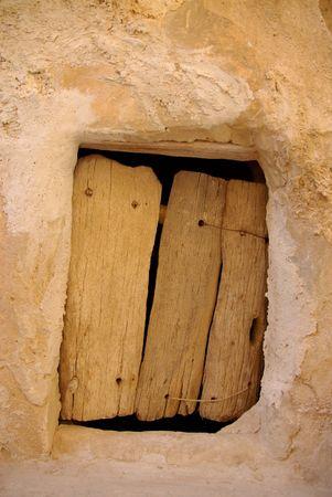berber: Door in a Berber granary, Libya