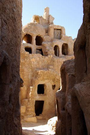 berber: Berber granary, Libya