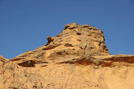libya: Rock, Libya Stock Photo