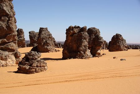 Libyan desert photo