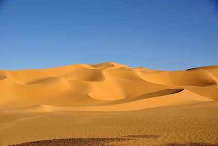 libya: Sand dunes, Libya
