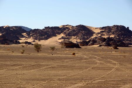 Landscape in Libya photo
