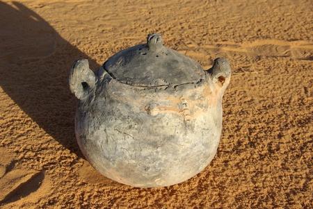 libyan: Ancient piece of pottery, Libya