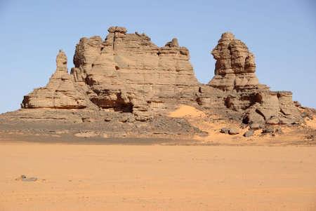 libysch: Peaks in der libyschen W�ste