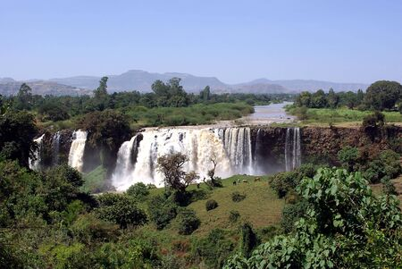 Waterfalls in Ethiopia photo