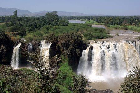 Waterfalls in Ethiopia Stock Photo - 11776928