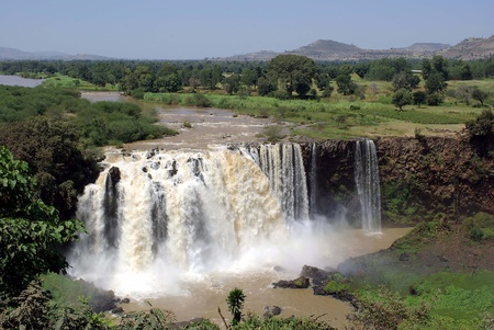 Waterfalls in Ethiopia Stock Photo - 11776925