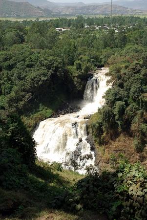 Waterfalls in Ethiopia photo