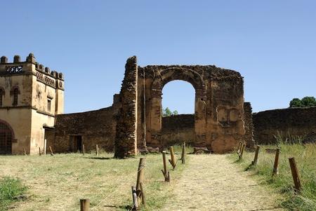 Gondar castle, Ethiopia Stock Photo - 11869106