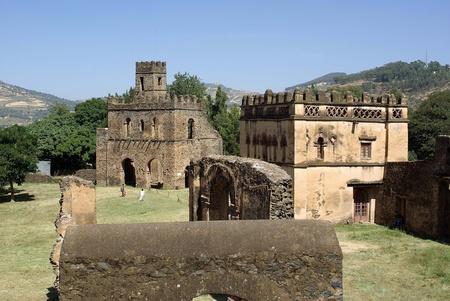 Castle in Ethiopia Stock Photo - 11869104