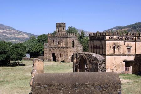 crenellated: Castle in Ethiopia