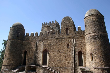 crenellated: Castle in Ethiopia