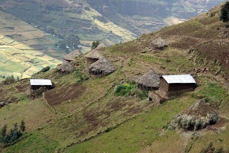 Village in Ethiopia photo