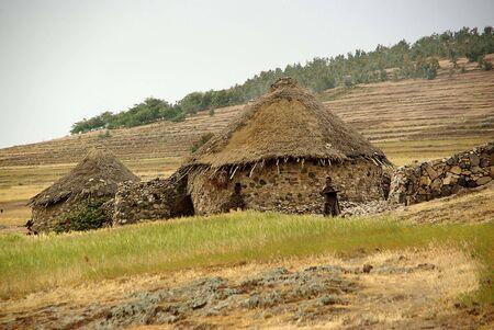 Village in Ethiopia Stock Photo - 13163563