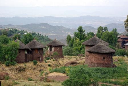 Village in Ethiopia Stock Photo - 13224320