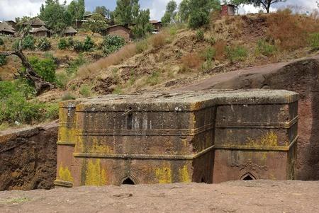 rupestrian: Church in Ethiopia