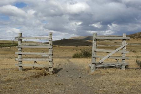 Ranch door in Chile Stock Photo - 17080208