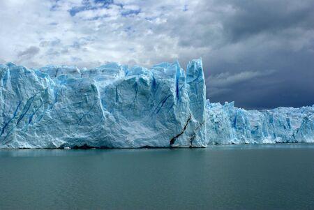 el calafate: Perito Moreno glacier, Argentina Stock Photo