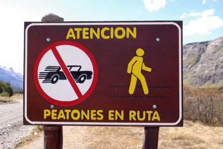 Signs in Argentina photo