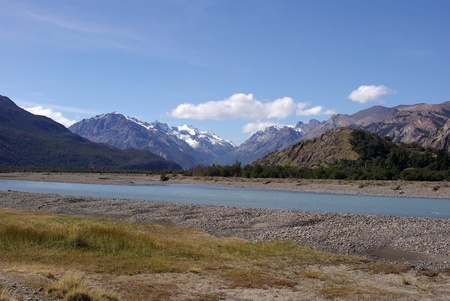 the pampas: Landscape in Patagonia