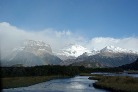 the pampas: Landscape of Patagonia