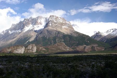 los glaciares: Landscape of Patagonia