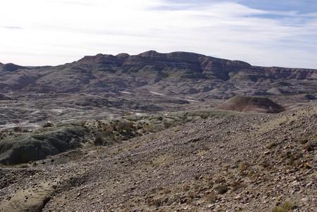 sarmiento: Landscape in Patagonia
