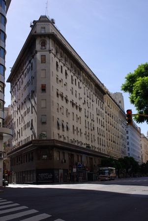 aires: Building in Buenos Aires, Argentina