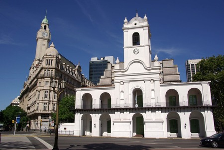 Church in Buenos Aires, Argentina Stock Photo