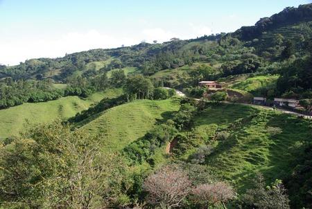 costa: Landscape in Costa Rica Stock Photo