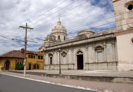 granada: Church in Granada Nicaragua