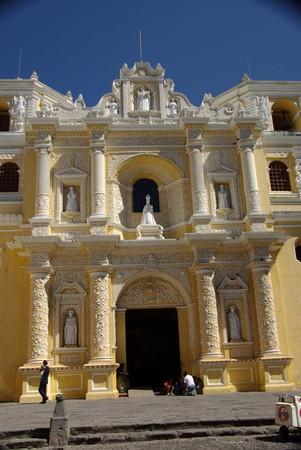 antigua: Church in Antigua, Guatemala