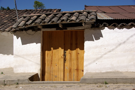 frontage: House in Chichicastenango, Guatemala