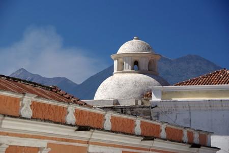 antigua: Dome in Antigua, Guatemala Stock Photo