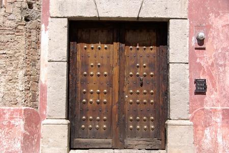 antigua: Door in Antigua, Guatemala