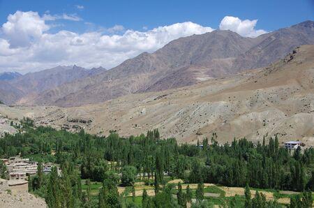 Landscape in Ladakh, India Stock Photo