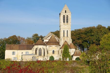 Catholic church in Luzarches in France, Europe