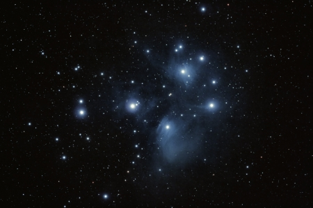 Pleiades star cluster Stock Photo - 9576189