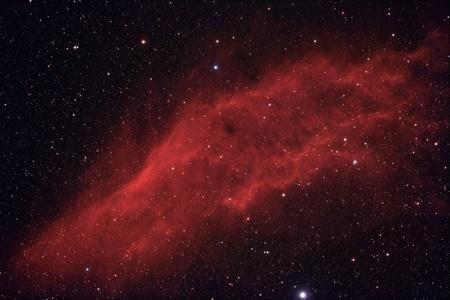 dark nebula: California nebula