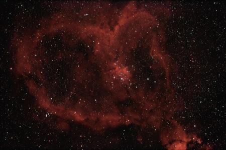 Heart nebula photo