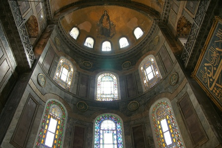 sophia: Hagia Sophia interior Editorial
