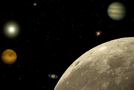 Solar System Stok Fotoğraf