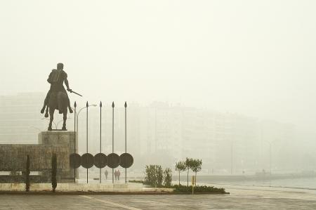 alexander: Statue of Great Alexander in Thessaloniki