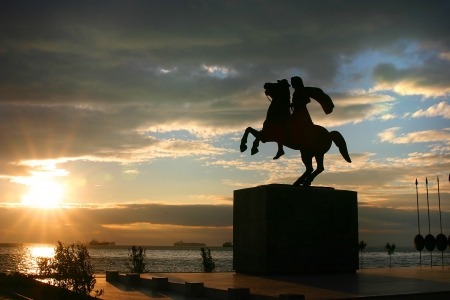 thessaloniki: Statue of Alexander the Great
