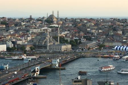 constantinople: View of the old Istanbul