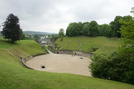 Roman arena in Trier  Germany