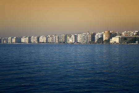 Thessaloniki - A beautiful view of the citys waterfront