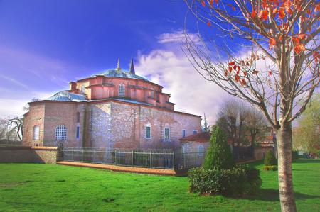 Kucuk Aya Sofya, the former Church of Saints Sergius and Bacchus in Istanbul
