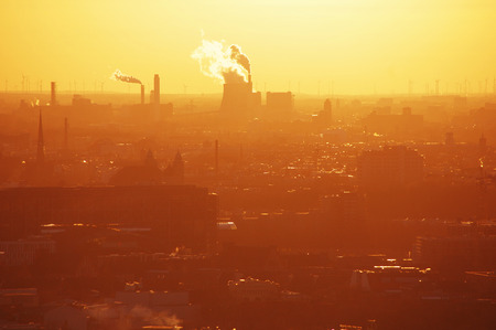 Industrial infrastructure and global warming
