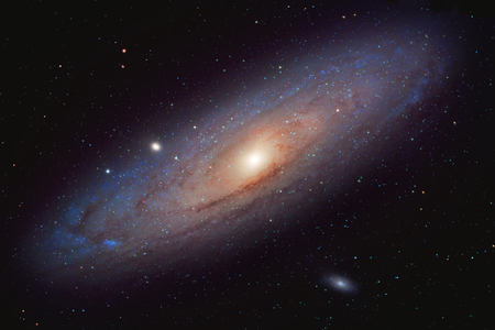 M31 - The great spiral galaxy in Andromeda Stock Photo